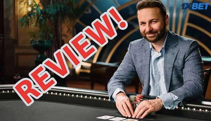 1XBET Poker Review มาพร้อมกับรีวิวทั้งแบบถ่ายทอดสดและแบบเกม